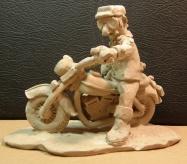old time biker